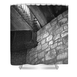 Sa River Walk 004-13 Shower Curtain by Shawn Marlow