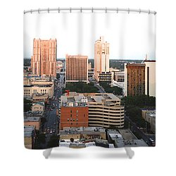 Sa Skyline 003 Shower Curtain