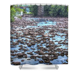 Sacandaga River Shower Curtain
