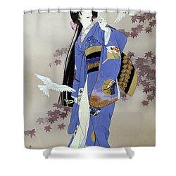 Sachi Shower Curtain by Haruyo Morita