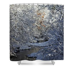Saco River New Hampshire Shower Curtain