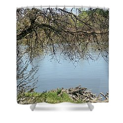 Sacramento River Shower Curtain
