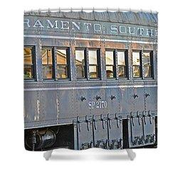 Sacramento Southern S P 2170 Shower Curtain by Bill Owen