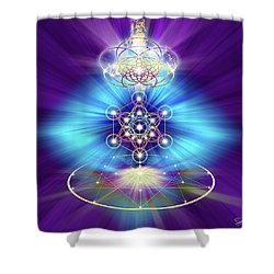 Sacred Geometry 30 Shower Curtain