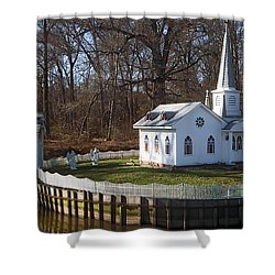 Sacred Ground Shower Curtain by Brian Wallace