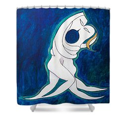 Sacred Kiss Shower Curtain