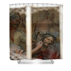 Shower Curtain featuring the photograph Sacri Monti  by Travel Pics