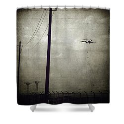 Sad Goodbyes Shower Curtain