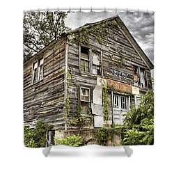 Saddle Store 1 Of 3 Shower Curtain by Jason Politte