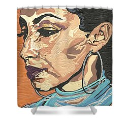 Sade Adu Shower Curtain