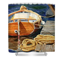 Safe Mooring Shower Curtain