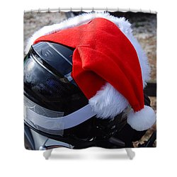 Safety First Santa Shower Curtain