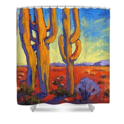 Desert Keepers Shower Curtain