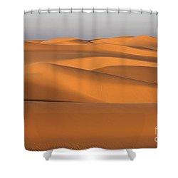 Sahara Desert Dunes Shower Curtain by Robert Preston