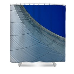 Shower Curtain featuring the photograph Sail Away by Christiane Hellner-OBrien