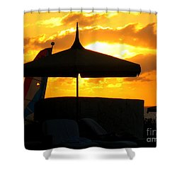 Sail Away With Me Shower Curtain by Patti Whitten