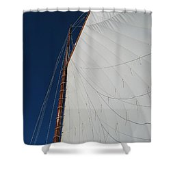 Shower Curtain featuring the photograph Sail Away With Me by Photographic Arts And Design Studio