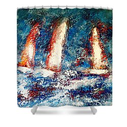 Sail On Shower Curtain