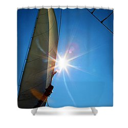Sail Shine By Jan Marvin Studios Shower Curtain