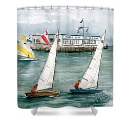 Sailing Class  Shower Curtain