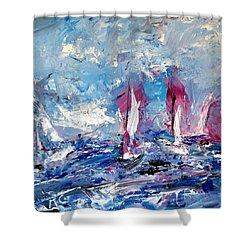 Sailing Magic Shower Curtain