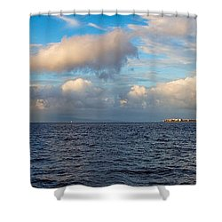Sailing To Lahaina Shower Curtain