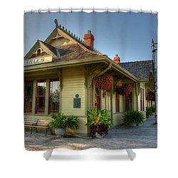 Saint Charles Station Shower Curtain