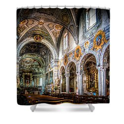 Saint George Basilica Shower Curtain