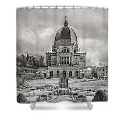 Saint Joseph Oratory Shower Curtain
