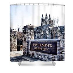 Saint Josephs University Shower Curtain by Bill Cannon