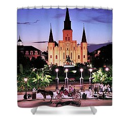 Saint Louis Cathedral New Orleans Shower Curtain
