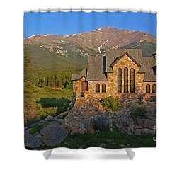 Saint Malo Chapel Shower Curtain