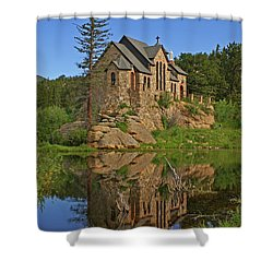 Saint Malo Reflection Shower Curtain