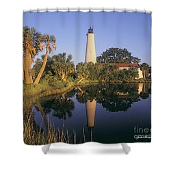Saint Mark's Lighthouse Shower Curtain