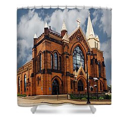 Saint Mary Of The Mount Church Shower Curtain