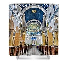 Saint Mary's Altar Shower Curtain by Susan Candelario