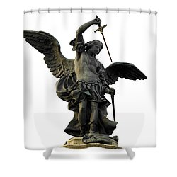Saint Michael Shower Curtain