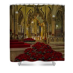 Saint Patricks Cathedral Shower Curtain by Susan Candelario