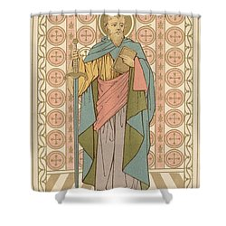Saint Paul Shower Curtain by English School