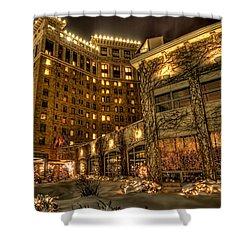 Saint Paul Hotel Shower Curtain by Amanda Stadther