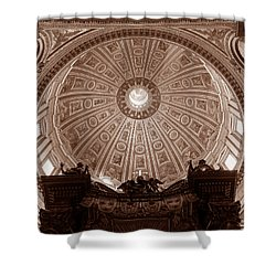 Saint Peter Dome Shower Curtain