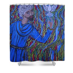 Saint Peter Shower Curtain