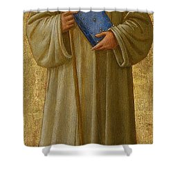 Saint Romuald Shower Curtain by Fra Angelico