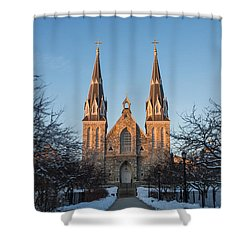 Saint Thomas Of Villanova Shower Curtain