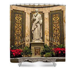 Saint Vincent Depaul Chapel Shower Curtain