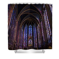 Sainte Chapelle Shower Curtain