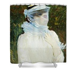 Sally Fairchild Shower Curtain by John Singer Sargent