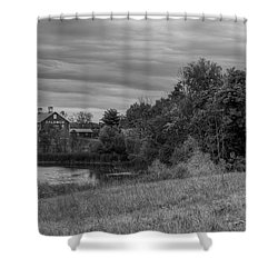 Salomon Farm In The Fall Shower Curtain