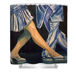 Salsa Stepping Shower Curtain