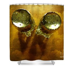 Salt And Pepper Shower Curtain by Mary Machare